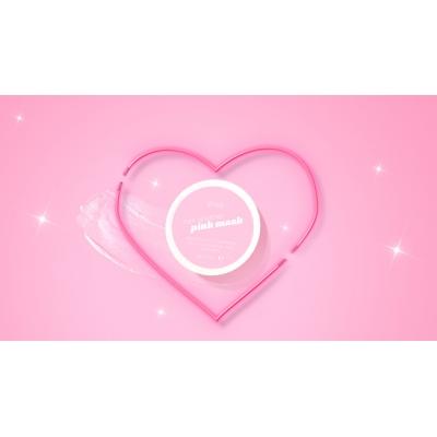 Roze gezichtsmasker (klei) 100ml