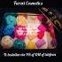 Giftset Kerst blik 6 rozen 6 fawaxjes (mix)