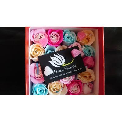 Gift Box 20 decoratie geur roosjes (diverse kleuren)